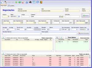 Software de cobrança e gestão de negociações